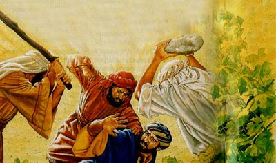 picture - wicked husbandmen kill the servant