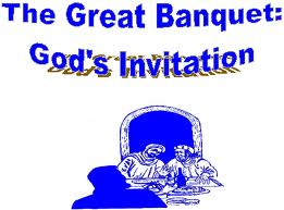 Inviting People to The Wedding Banquet